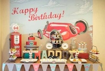 Party | Race Car Party Ideas / by Jessica |OhSoPrintable|