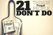Frugal living / Saving money tips and tricks