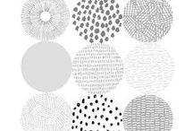 ▲Font // Pattern // Drawn