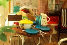 Lundby Doll houses / Lundby Doll house and furniture. Retro and modern.