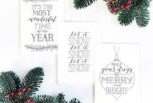Christmas Cards / Forget off the shelf designs, our customers are sending sentiments like no other this year. Creating their own personalised greeting cards by choosing paper, envelopes, and those all-important fancy festive finishes, Christmas has got creative!