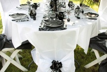 Wedding Black & White | Mariage Noir & Blanc