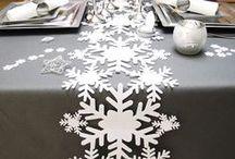 Deco Noel / Préparez votre deco de noel et inspirez vous de toutes nos idées grâce à nos tables. De la deco sapin de noel à la décoration de table, vous trouverez même de la décoration à thème !