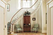 Home-interior-entry/stairs/foyer / by Shannon Stewart