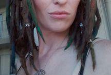 Dreadlocks -little & dreadful / An alternative beauty to societies ideas of normal. White girls with dreads :)  #littleanddreadful www.lockss.wix.com/littleanddreadful https://m.facebook.com/littleanddreadful