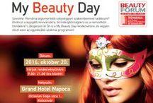 Beauty Forum Romania - Expozitie si Trend Show / Cosmetica, manichiura, pedichiura, hair style, unghii tehnice, make-up, wellness, spa, estetica medicala cu profesionisti din tara si de peste hotare.