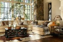 Home Decor: Living room / Interior design ideas and suggestions for the living room.