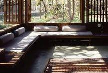 Home Decor: Veranda, Patio and Sun Room / Interior design ideas and suggestions for verandas, patios, sun rooms, etc.