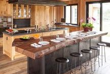 Home Decor: Kitchen / Interior design ideas and suggestions for the kitchen.