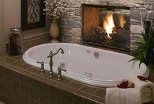 Home Decor: Bathroom / Interior design ideas and suggestions for the bathroom.
