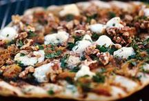 Grilled Pizza / Everyone Loves Pizza, try making your own on the grill!