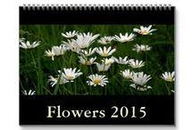 2015 Wall Calendars: Flowers