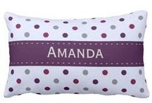 Polka Dots Throw Pillows