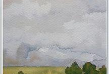Harriet's målningar och konst / Målningar i olja och akvarell. Alla till salu.