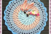 T shirt yarn / Crochet, t- yarn, t shirt yarn, patterns, hoooked, hoooked zpagetti, rugs,