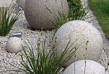 beton, studený porcelán a iná hmota