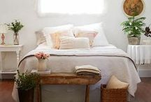Bedroom ideas / Bedroom inspo