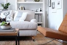 lounge room mood board