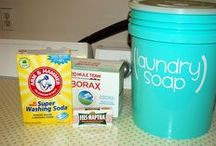 DIY detergents, cleansers, scents / Recipes and how to make your own cleaner prodcts / by Rhonda Dowdy