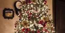 Weihnachtsbäume / Ob bunt dekoriert, selber gebastelt, echt oder unecht, zum Essen oder als Weihnachtsgruss - Weihnachsbäume sind einfach schön!