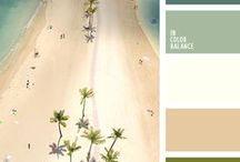 Colour Inspiration / Color palettes