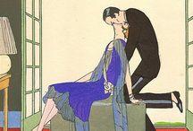 Art: Art Deco / Art Deco Art & Illustration / by Myriad Moods