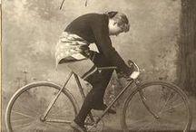 Vintage Bicycle Belles