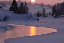 Zima,lodowce...