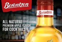 Berentzen Apple Liqueur / Berentzen Apple Liqueur is an all-natural fruit liqueur made with specially selected sun-ripened apples to provide a crisp, fresh apple taste.