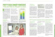 URATEHDAS mediassa / Artikkeleja Uratehtaan toiminnasta ja projektilaisista. Lisäksi myös artikkeleja edeltäneestä PIOTTY -projektista vuosilta 2009-2013.