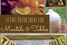 Fall and Thanksgiving Ideas