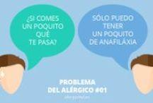 Alergias alimentarias. Recetas sin / by Manuela Oliveira