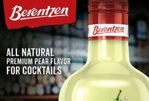 Berentzen Pear Liqueur / Berentzen Pear Liqueur is an all-natural fruit liqueur made with specially selected green pears.