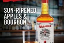 Berentzen Bushel & Barrel / Berentzen Bushel & Barrel Apple Bourbon is made from Straight Kentucky Bourbon, distilled and aged to perfection and authentic Berentzen Apple Liqueur.