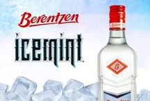 Berentzen Icemint Schnapps / Berentzen Icemint 100 proof German schnapps. Crystal clear and bold, this SUPER MINT flavored spirit will leave you chilled to your core.