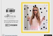#MBFW Setiembre 2014 / Te invitamos a seguirnos en la Semana de la Moda en New York (del 4 al 11 de setiembre). Consejos sobre peinados de pasarela y cómo hacerlos directamente en tu casa #TRESemméMBFW #MBFW #SS15