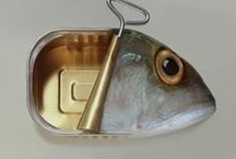 Fish- in all guises, media and styles! / I collect fish- ceramic, metal, antique, modern - any media that catches my eye! LOOK OUT for my own collection which will be on this board very soon!