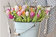 Spring / Spring and Easter Ideas.  Bunnies, Eggs, Crafts, Food, Décor, Recipes, Flowers, Crosses, and more using what you have when possible!