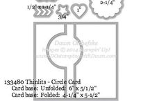 Stampin UP Framelits & Thinlits