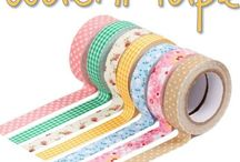 Stampin UP Washi Tape Cards