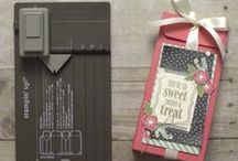 Stampin UP Gift Bag Punch Board