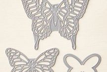 Stampin UP Butterfly Thinlets