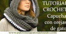 *DIY_Crochet Gorros y Bufandas