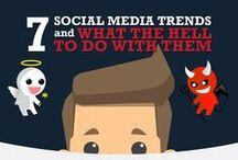 Community Manager / Infografias de temas relacionados con Social Media y Community Managers