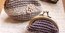 *DIY_Crochet monederos