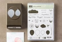 Stampin UP Balloon Celebration