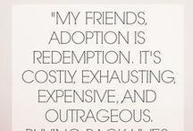 Adoption / Adoption stories, inspiration, information, help, and the REAL.  It's not always easy but it is so rewarding!