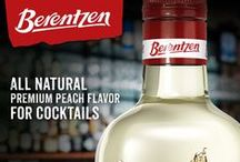 Berentzen Peach Liqueur / Berentzen Peach Liqueur is an all-natural fruit liqueur with an authentic and fresh flavor of ripe peaches.