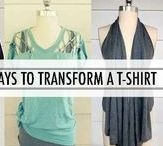 DIY Distress & Refashion Your Clothes / DIY Shirt Cutting. Learn how to distress and refashion your clothes.