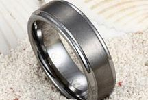 Tungsten Wedding Bands / Shop for Best Tungsten Wedding Bands for Men and Women. / by Tungsten Republic